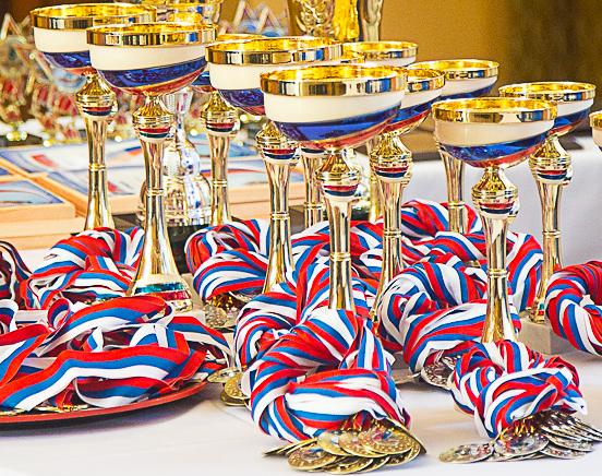 Награждение призёров сезона 2017-2018гг.